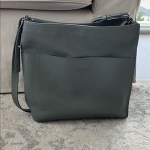 All Saints Grey Tote